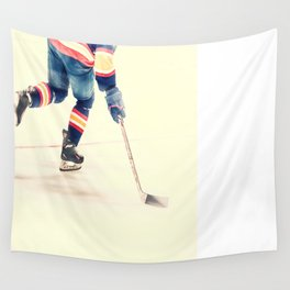 The Sport Of Hockey Wall Tapestry