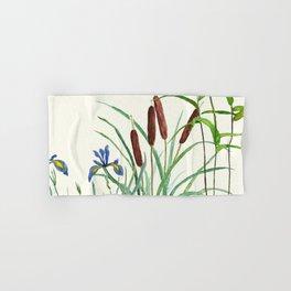 pond-side elegance Hand & Bath Towel