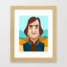 No Country For Old Men Framed Art Print