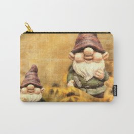 Gnomes in The Daisies Carry-All Pouch