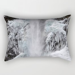 Cloaked in Ice Rectangular Pillow