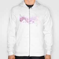 Watercolor landscape illustration_Istanbul Hoody