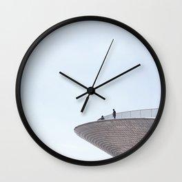 Modern Architecture Wall Clock
