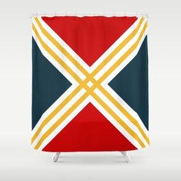 Nautical geometry 3 Shower Curtain