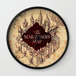 MARAUDERS MAP Wall Clock