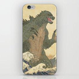 Godzilla Ukiyo-e  iPhone Skin