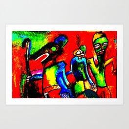 Ojuju calabar Art Print