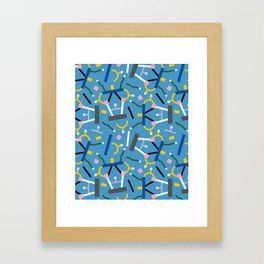 Ashoka Lamp Party Confetti Framed Art Print