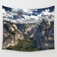 the national Wall Tapestries featuring Yosemite National Park by Spyck