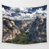 yosemite Wall Tapestries featuring Yosemite National Park by Spyck