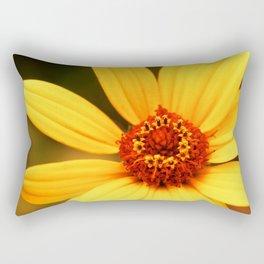 Flower Macro 2 Rectangular Pillow