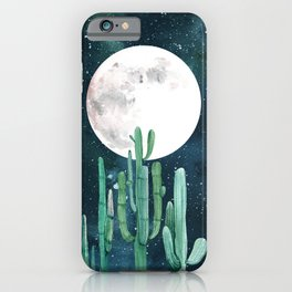 Desert Nights 2 iPhone Case