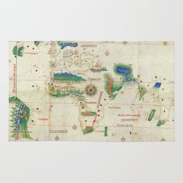 World Map 1502 Rug
