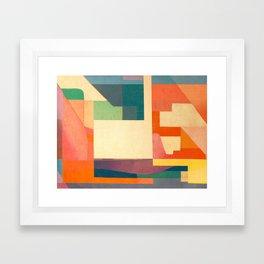 Climbers Framed Art Print