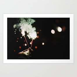 Sparks II Art Print