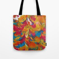 psychedelic Tote Bags featuring Psychedelic by DuckyB