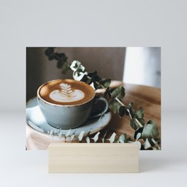 Latte Art V Mini Art Print