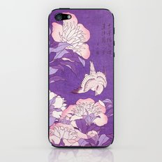 Japanese FLowers Purple Pink iPhone & iPod Skin