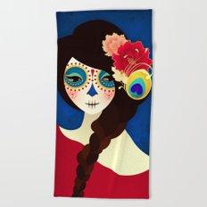 La Muertita ~ Candy Flavoured Beach Towel