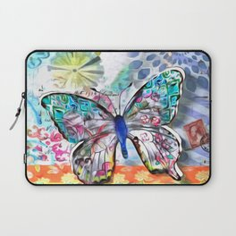 Fantasía con Mariposas Laptop Sleeve