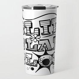 Blip Blap Blop  Travel Mug