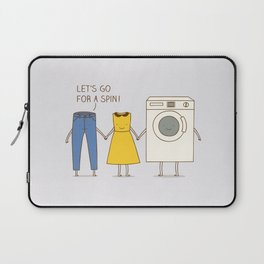 Let's go for a spin! Laptop Sleeve