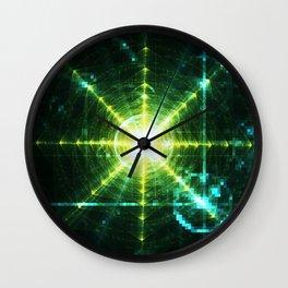 Pyramid Pixel Punk Wall Clock