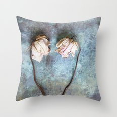 Heart of Roses II Throw Pillow
