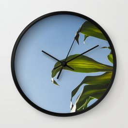 Nature vibes Wall Clock