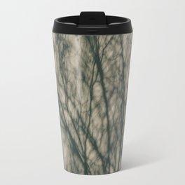 Shadows of Winter Foliage Travel Mug