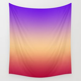 Purple-red Ombre Wall Tapestry
