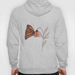 Monarch garden 001 Hoody