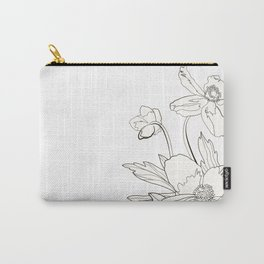 Bunch of spring anemones Carry-All Pouch