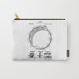 patent art Barry Tambourine 1922 Carry-All Pouch