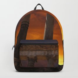 Temple of Saturn Ruins Backpack