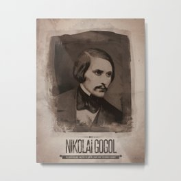 Nikolai Gogol Metal Print