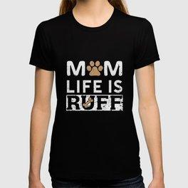 dog master mistress Wau puppies dogs T-shirt