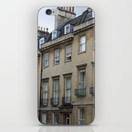 Row of Houses in Bath iPhone Skin