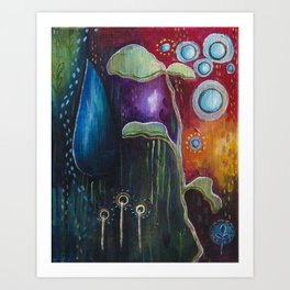 Collecting Journeys Art Print
