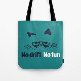 No drift No fun v2 HQvector Tote Bag
