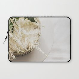 White Naked Cake Laptop Sleeve