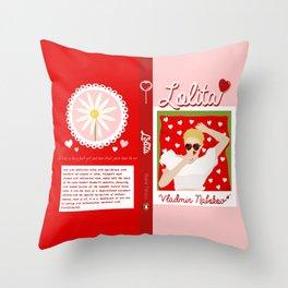 Lolita Throw Pillow