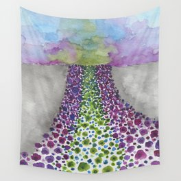 Paths of Color III Wall Tapestry