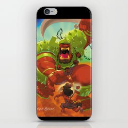 David Vs. Goliath iPhone Skin
