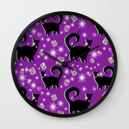 Fabulous Felines take 2 Wall Clock