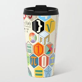 Math in color Travel Mug