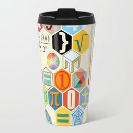 Math in color Travel Mug