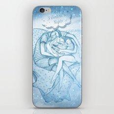 Happy Valentine's Night iPhone Skin