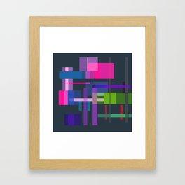 Imitation Mid-20th Century Abstraction, No. 3 Framed Art Print