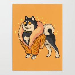 Super Fabulous Shiba Poster